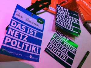 """Fight for your digital rights"" ist das neue ""Atomkraft nein danke""!"
