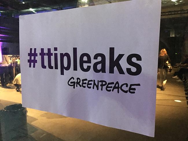 Mit #ttipleaks hat Greenpeace der digitalen Gesellschaft einen großen Dienst erwiesen.
